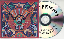 BEST FRIENDS Hot Reckless Totally Insane 2015 UK 10-track promo test CD