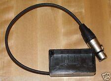 Soporte de adaptador de zapatos de la batería NP1 a 4 Pin XLR Marshall OR-841 - HDSDI Monitor