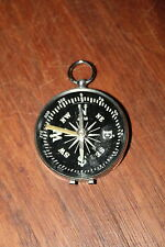 "Vintage Compass Made In Japan 2"" in Diam. Metal Hoop on Top"
