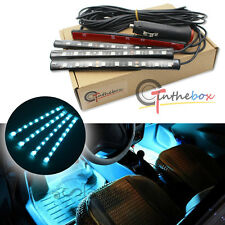 Ice Blue LED Car Interior Under Dash Foot  Lighting Kit LED Accent Light, 4 x 6""