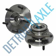 Pair of 2 Front Driver and Passenger Wheel Hub and Bearing 4WD NO ABS