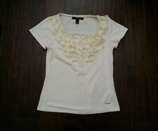 KAMISETA TOP/BLOUSE SIZE Medium OFF WHITE