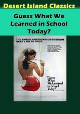 Guess What We Learned in School Today?  DVD NEW