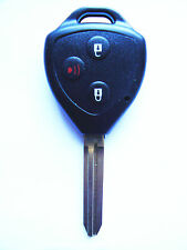 key case shell 3 buttons for toyota yaris camry rav4 collara