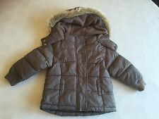 Baby Girls Clothes 6-9 Months - Cute Padded Coat