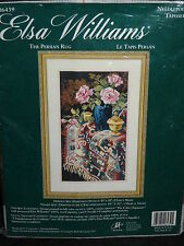 Elsa Williams The Persian Rug Needlepoint Kit NEW Still Life With Pink Roses NIP