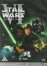 STAR WARS EPISODE 6 VI THE RETURN OF JEDI DVD New Sealed Original UK Release
