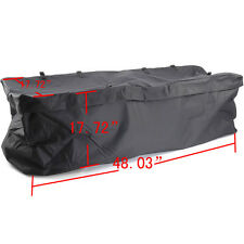 Large Cargo Carrier Bag Weather-Resistant Hitch Mount Roof Rack Luggage