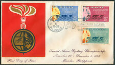 1965 Philippines SECOND ASIAN CYCLING CHAMPIONSHIP First Day Cover - A