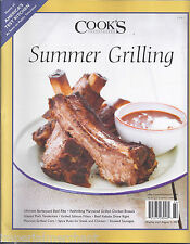 Cooks Illustrated magazine Summer grilling Ultimate barbecued beef ribs Kebabs
