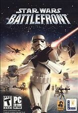 Star Wars Battlefront -- Original LucasArts Windows PC Computer Game (with key)
