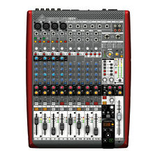 BEHRINGER UFX1204 12-Input 4-Bus Mixer USB/FireWire Interface FX + Full Warranty