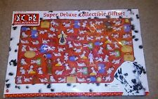 Vintage Mattel 1990s Disney 101 Dalmatians Super Deluxe Collectable Gift Set NIB