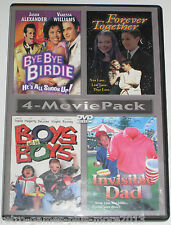 4-Movie Pack: Bye Bye Birdie, Forever Together, Invisible Dad, Boys Will Be Boys