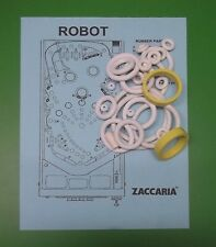 1984 Zaccaria Robot pinball rubber ring kit