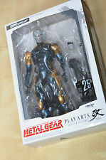 Play arts kai cyborg ninja figure metal gear 25th anniversaire