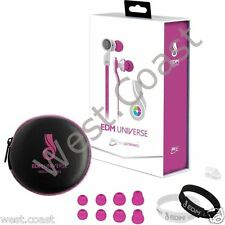 New MEE Audio EDM Universe D1P-PK In-Ear Headphone Headset Functionality Pink