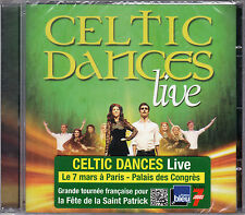 CD CELTIC DANCES LIVE 17T DE 2013 NEUF SCELLE FRENCH STICK !!!