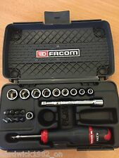 FACOM TOOLS 1/4 Drive SOCKETS SET DRIVER + BIT SET  NO RATCHET