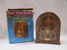 Music Box Old Style Radio with Box Happy Days Chadwick Miller Vintage 1970s