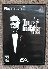 Playstation 2 PS2 game The GODFATHER Game complete Map Black Label FREE SHIPPING