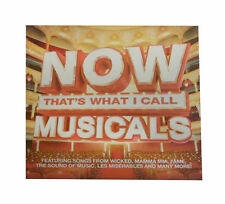 Various Artists - Now That's What I Call Musicals (2012) 2 x CD {CD Album}
