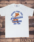 Men's White T-Shirt,Leicester City, Dreams Come True, Champions 2015-2016 Print