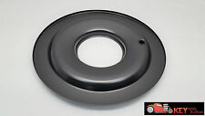 """14"""" black steel air cleaner FLAT base Chevy Ford SBC BBC Holley Edelbrock"""