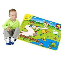 Musical Farm Animal Toy Carpet Educational Play Rug