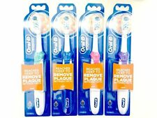 1 Oral-B Cross Complete Action Power Deep Clean Crest White Toothbrush (pick 1)