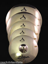 Zildjian A2057911 5 Piece A Custom Cymbal Set Pack