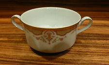 Great Gilded porcelain soup cup by Porcelana Tsuji-Argentina (24k) [Y8-W6-A9-E9]