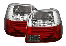 CRYSTAL CLEAR REAR TAIL LIGHTS LAMPS FOR VW GOLF MK4 MK 4 HATCHBACK 10/97-9/03