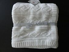NWT Carter's Alpine Holiday Cable Knit Ivory Sweater Blanket Unisex Boy Girl New
