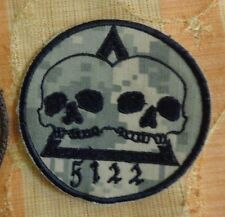 U.S ARMY SPECIAL FORCES TEAM PATCH, ODA 5122, ACU, THEATER MADE