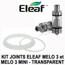 2 JOINTS / SEALS ELEAF MELO 3 et MELO 3 MINI - TRANSPARENTS - AUTHENTIQUES