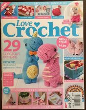 Love Crochet Gorgeous Patterns Pay And Pip June 2015 FREE SHIPPING!