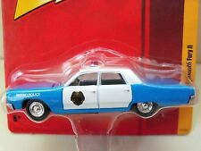 JOHNNY LIGHTNING - RELEASE 3 - 1967 PLYMOUTH FURY II METRO POLICE CAR - DIECAST
