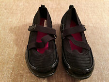 toddler girls JUMPING BEANS casual shoes NEW size 10 NWOT black