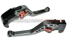 CNC Adjustable Shorty Brake Clutch Lever Titanium For Honda CBR 1000 2008 - 2012