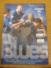 13/05/2001 Play-Off Semi-final división 1: Birmingham City v Preston North End