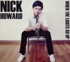 When the lights go up di Nick Howard (2011), Digipack, nuovo OVP, CD