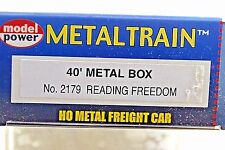 """Reading """"Share In Freedom"""" Box Car #19810 By Model Power #2179-HO 317"""