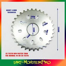 415 Sprocket 32 32T Teeth 49 66 70 80cc 2 Stroke Motorized Push Bike Bicycle
