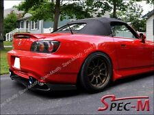 Honda S2000 AP1 AP2 Painted OE-Type Trunk Spoiler Lip - #R-510 New Formula Red