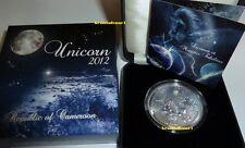 Unicornio Unicorn 2012 camerún 1.000 francos CFA .999 plata Opal * * máx. 888 ex.
