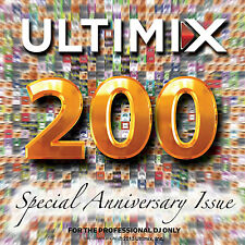 Ultimix 200 CD Ultimix Records Pitbull One Republic DJ Snake Ellie Goulding
