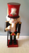 Wood Soldier  Christmas  Nutcracker With Rifle