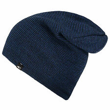 NEW O'NEILL MENS ALL DAY LOOSE FIT RELAXED LARGE BLUE BEANIE HAT 6W/654130/5040