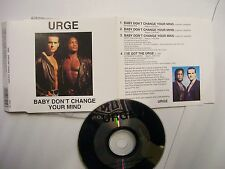 URGE Baby Don't Change Your Mind – 1993 UK CD – Funk, House – VERY RARE!
